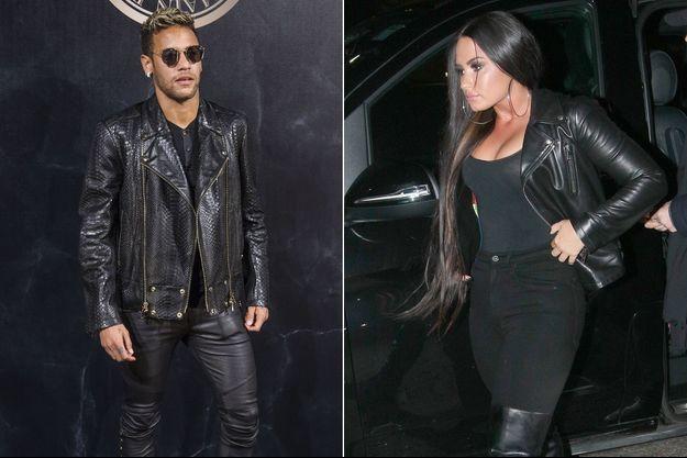 Demi Lovato et Neymar.