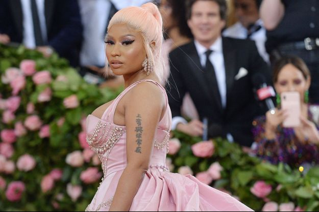 Nicki Minaj à New York en mai 2019.