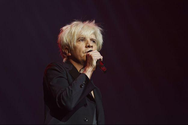 Nicola Sirkis en concert à Paris en 2018