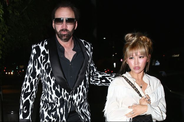 Nicolas Cage et Erika Koike