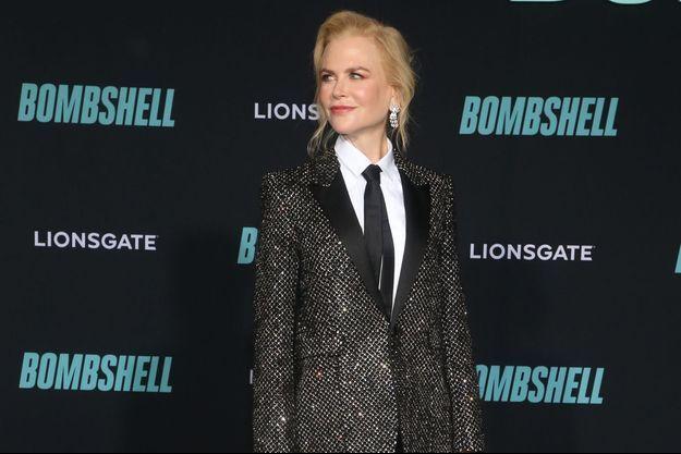 """Nicole Kidman à la première de """"Bombshell"""" à Westwood en décembre 2019."""