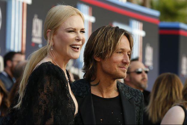 Nicole Kidman et Keith Urban à Las Vegas, le 7 avril 2019