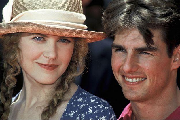 Nicole Kidman et Tom Cruise en 1993.