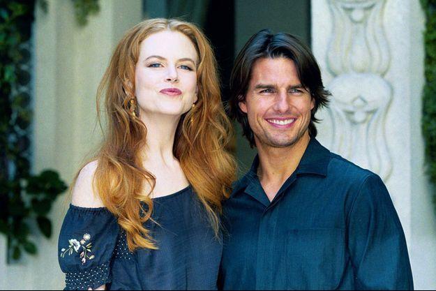 Nicole Kidman et Tom Cruise en 1999