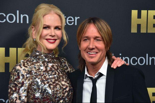 Nicole Kidman et Keith Urban à New York, le 29 mai 2018