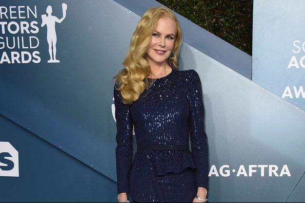 Nicole Kidman en janvier 2020 à Los Angeles