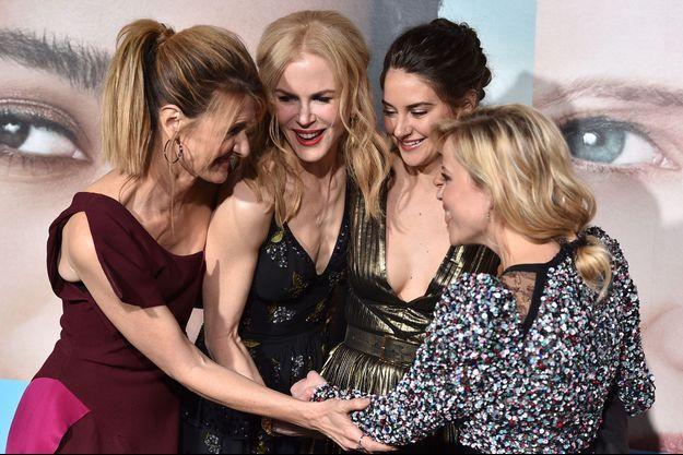 Laura Dern, Nicole Kidman, Shailene Woodley et Reese Witherspoon