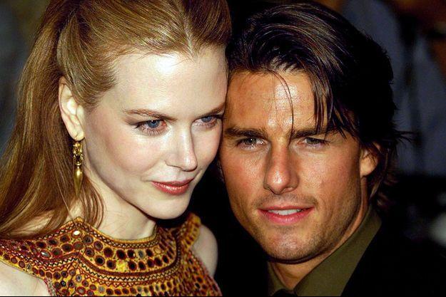 Nicole Kidman et Tom Cruise en 1999, à Londres.