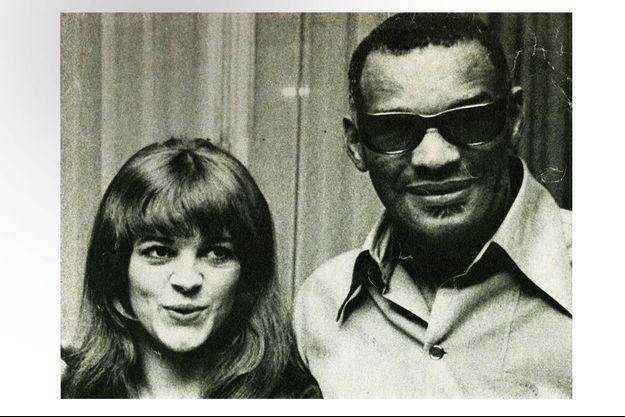 1967, première rencontre à Montréal entre Nicoletta et The Genius, Ray Charles.