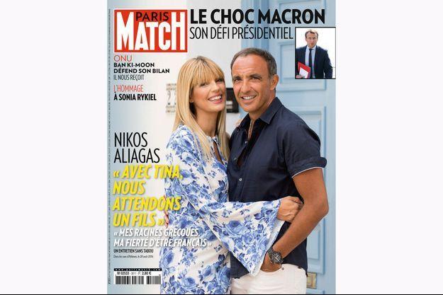 La couverture du Paris Match numéro 3511