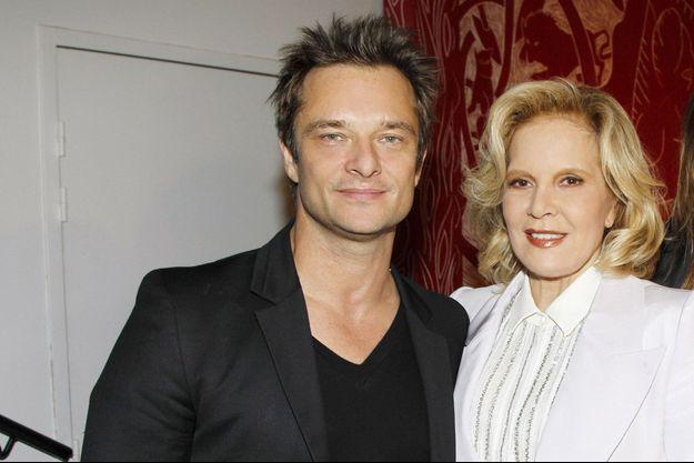 David Hallyday et Sylvie Vartan en 2011.