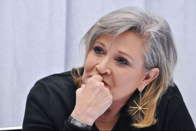 Carrie Fisher en décembre 2015.