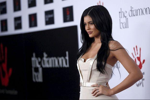 Kylie Jenner en décembre 2015.