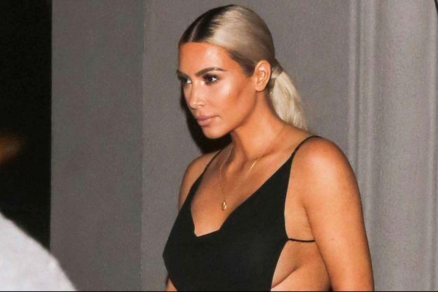 Kim Kardashian à Los Angeles en novembre 2017.