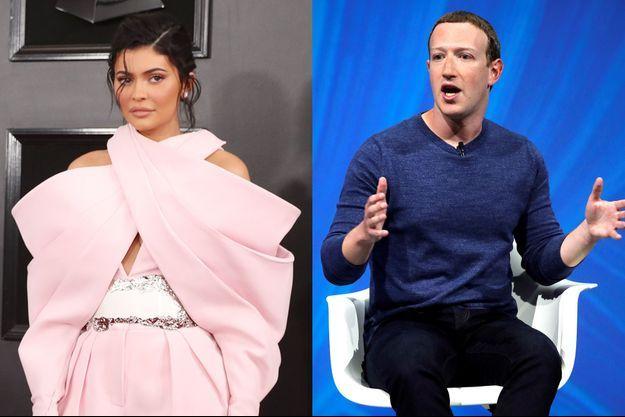 Kylie Jenner et Mark Zuckerberg