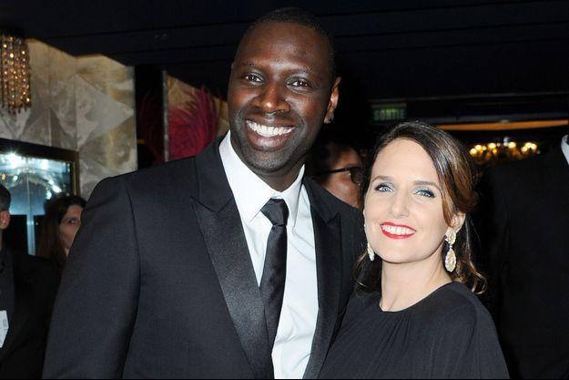 Omar Sy et Hélène Sy en mars 2017.