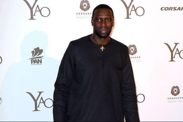Omar Sy à Paris en janvier 2019.