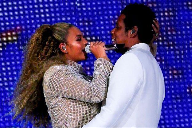 Beyoncé et Jay-Z en concert au Principality Stadium à Cardiff, le 6 juin 2018