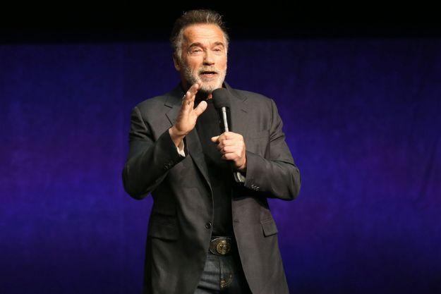 Arnold Schwarzenegger en avril 2019.