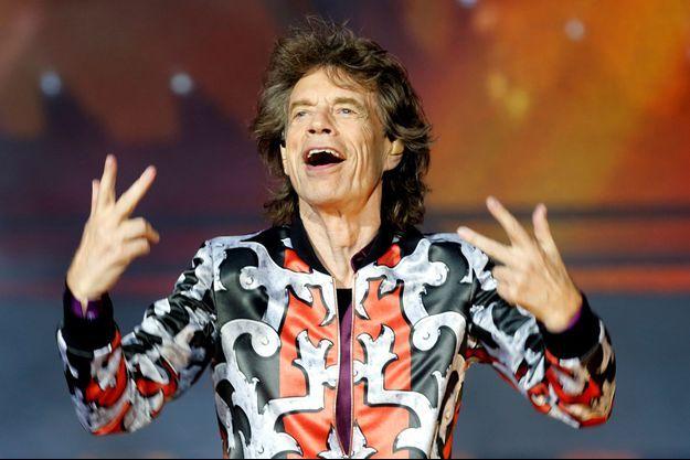Mick Jagger le 26 juin 2018 à Marseille.