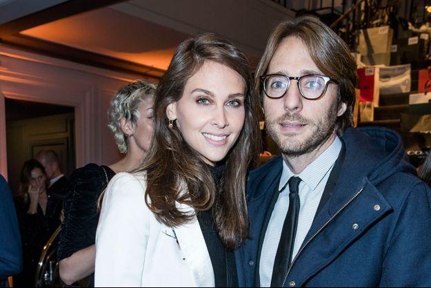 Le couple ici à un dîner de gala en décembre 2017.