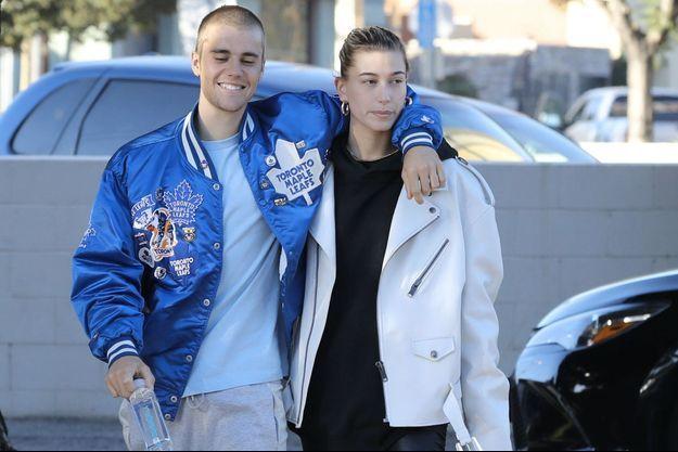 Justin Bieber et Hailey Baldwin en novembre 2018