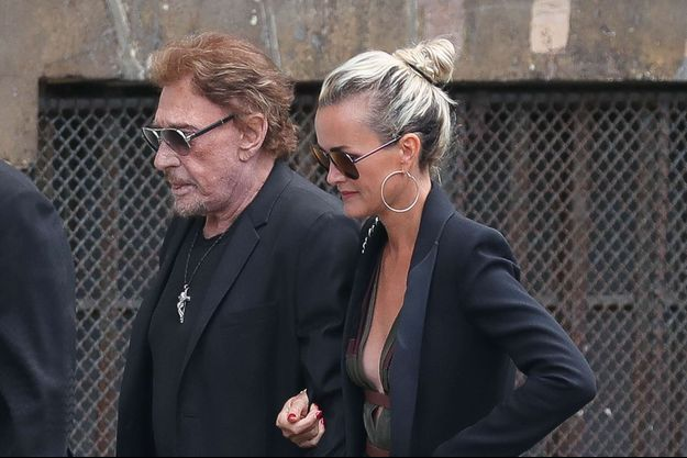 Johnny et Laeticia Hallyday.