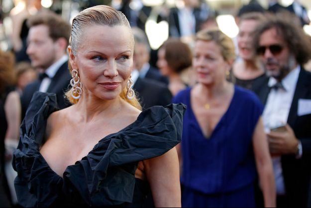 Pamela Anderson lors du Festival de Cannes 2017.