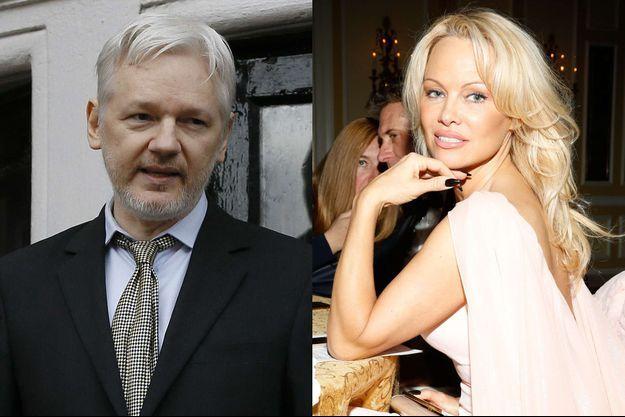 Pamela Anderson et Julian Assange en couple ?