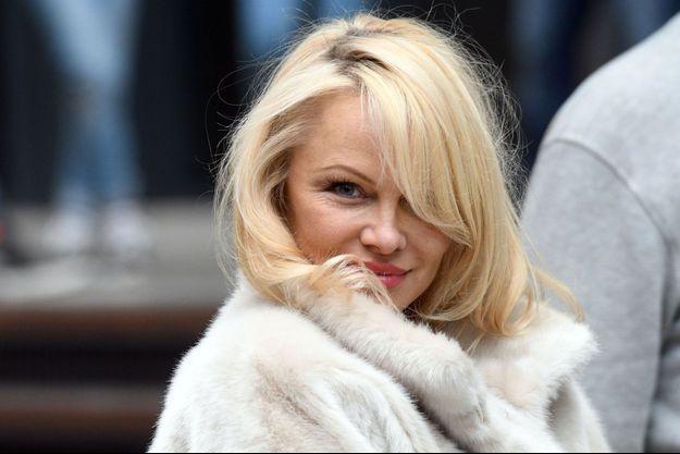 Pamela Anderson en septembre 2017 en Allemagne