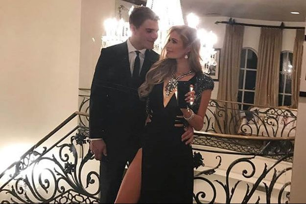 Paris Hilton et Chris Zylka, le 4 janvier 2017.