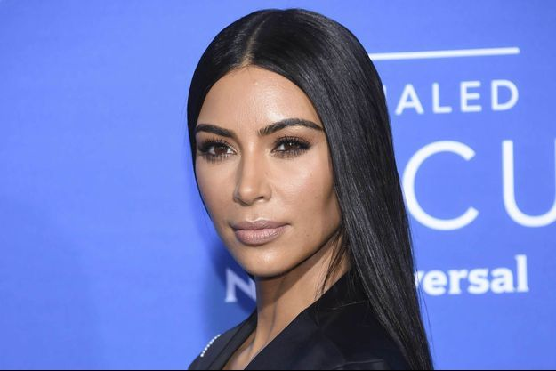 Kim Kardashian à New-York, en mai 2017.