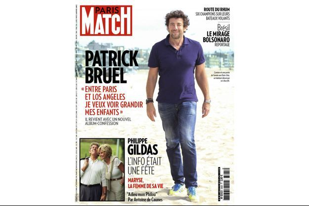 La couverture 3625 de Paris Match