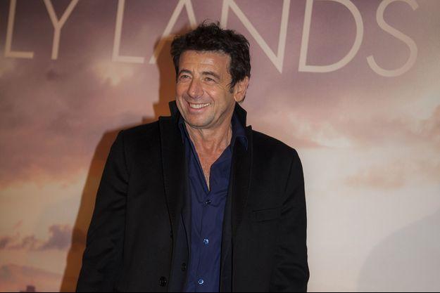Patrick Bruel à Paris, le 4 décembre 2018