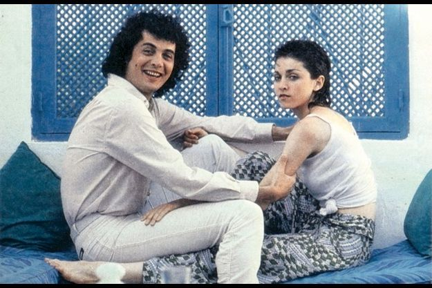 Patrick Hernandez et Madonna, âgée de 19 ans.