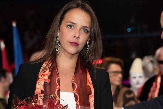 Pauline Ducruet à Monaco, en janvier 2016.