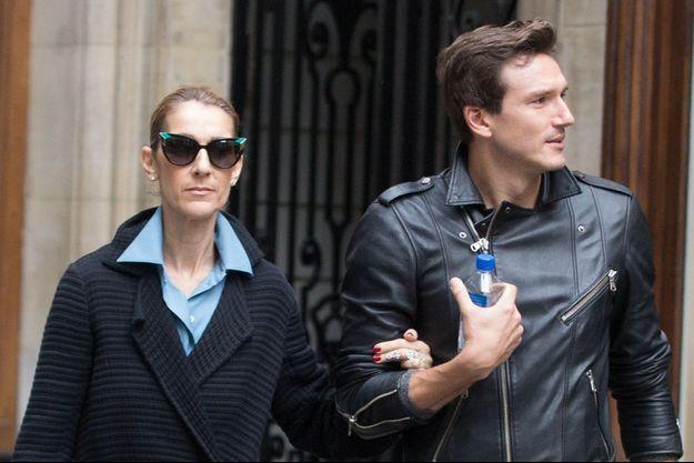 Pepe Munoz et Céline Dion à Paris en août 2017.