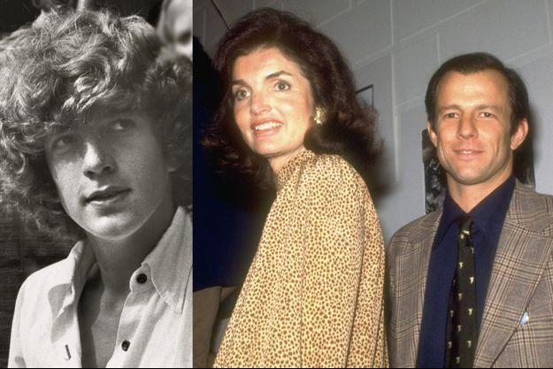 John F. Kennedy, Jr. en août 1976. Jackie et Peter Beard en 1983.