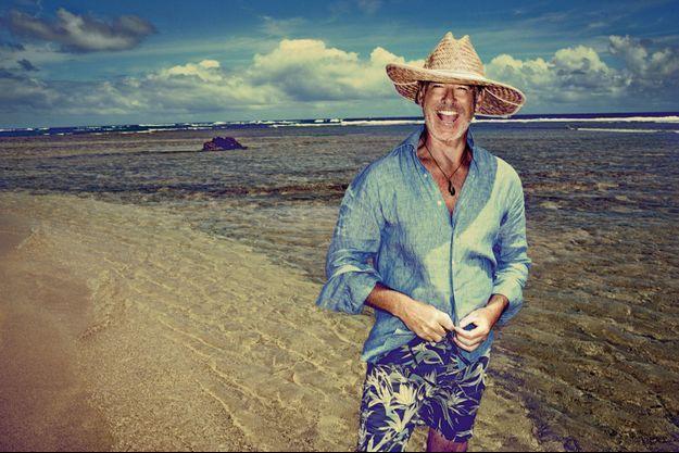 En mission farniente à Kauai, Hawaii, où l'acteur a une maison de vacances.