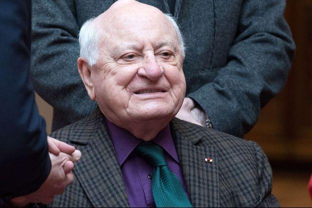 Pierre Bergé en mars 2017.