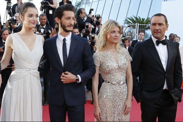 """Pierre Niney et Gilles Lellouche avaient foulé ensemble le tapis rouge du Festival de Cannes pour """"Vice Versa""""."""