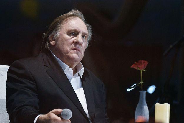 Gérard Depardieu, avril 2018