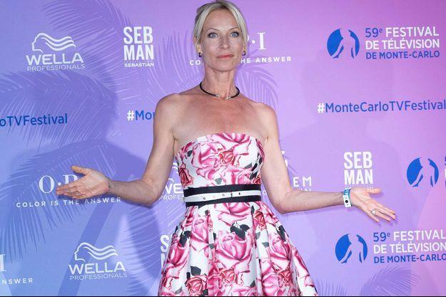 Rebecca Hampton au festival de la télévision de Monte-Carlo, en juin 2019.