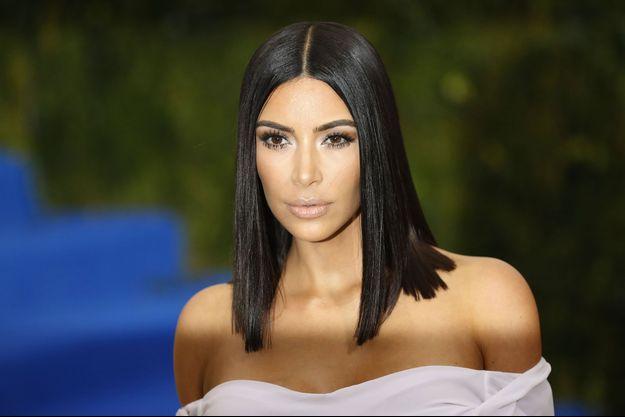 Kim Kardashian en mai 2017 à New York.
