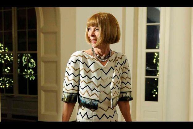 Anna Wintour à la Maison Blanche.