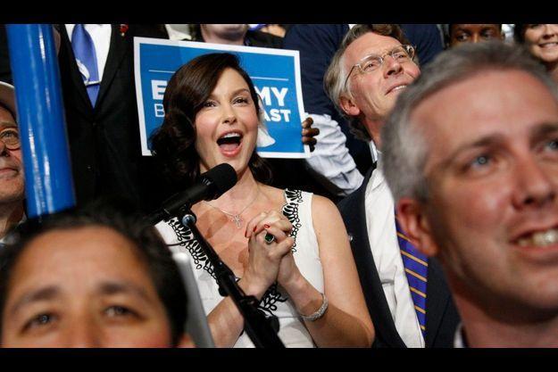 Ashley Judd à la convention démocrate de septembre dernier.