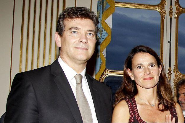 Aurélie Filippetti et Arnaud Montebourg au ministère de la Culture