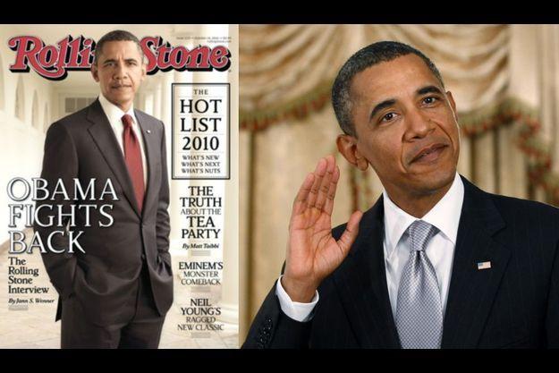 Barack Obama fait la couverture du prochain numéro de Rolling Stone.