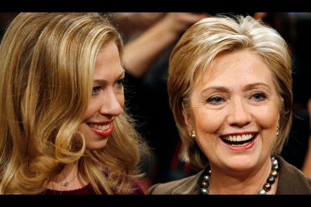 Chelsea Clinton et sa mère Hillary