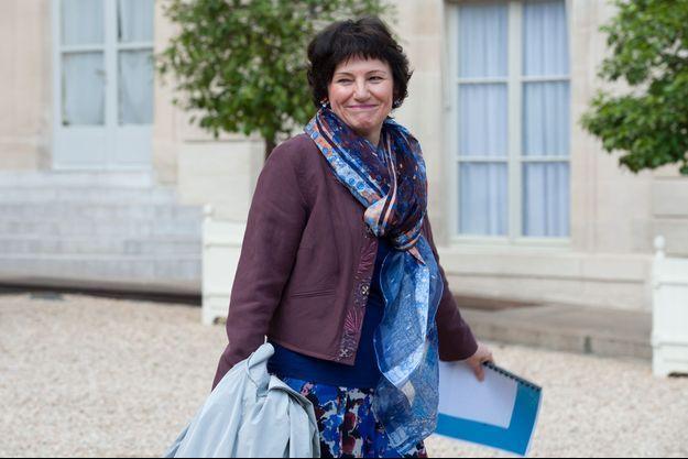 Dominique Bertinotti dans la cour de l'Elysée, le 12 juin dernier.